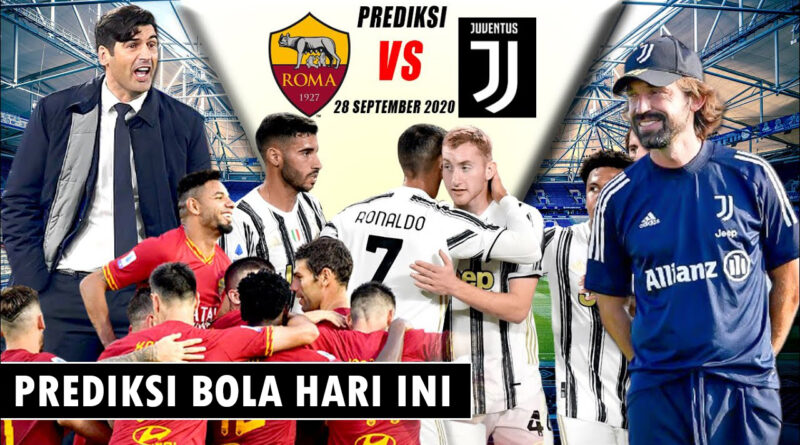 Juventus vs As Roma 28 oktober 2020